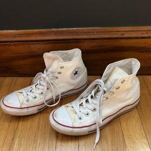 Women's high top Converse size 10
